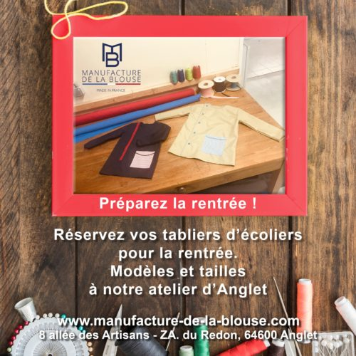 Tabliers d'Ecoliers