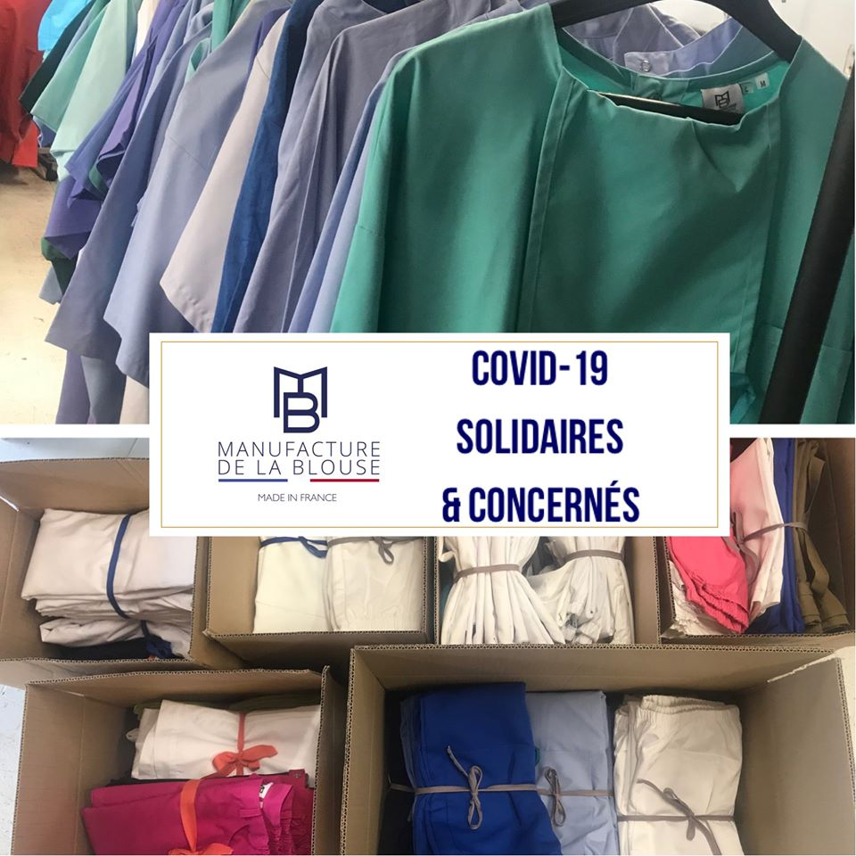 COVID-19 SOLIDAIRES !