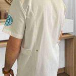 tunique personnalisee globale santé dos modèle homme