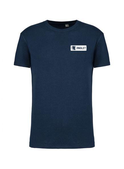 tshirt personnalisé ville anglet marine face