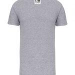 tshirt personnalisé ville anglet gris dos